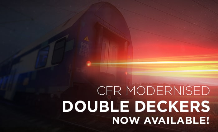 CFR Modernised Double Deckers
