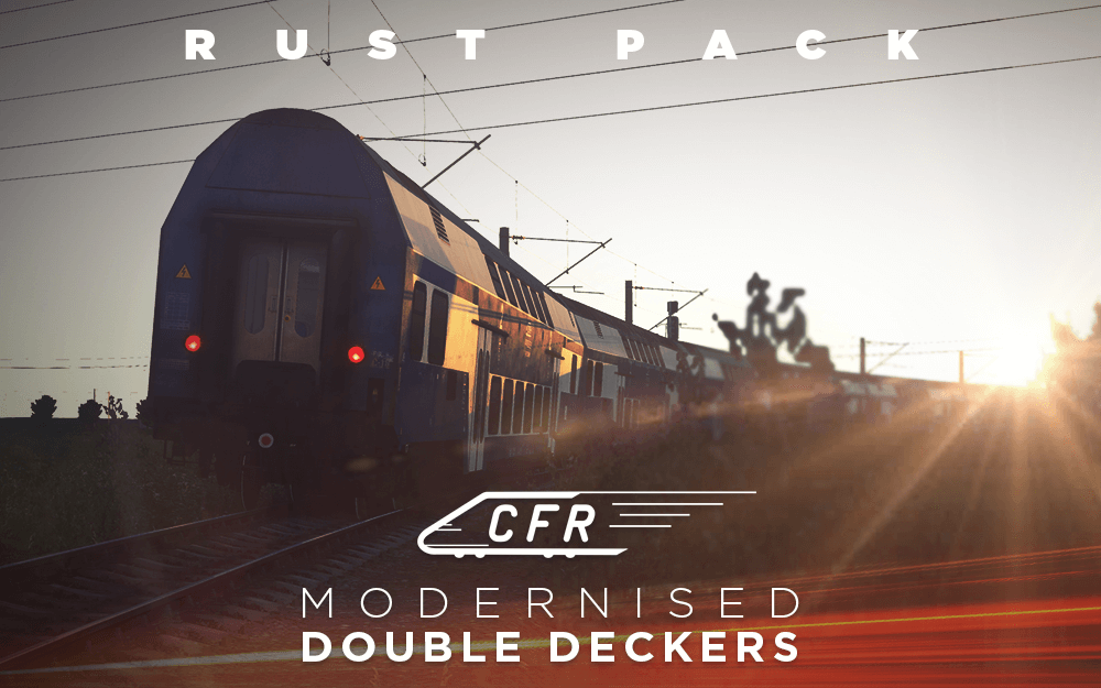 CFR Modernised Double Deckers Rust Pack
